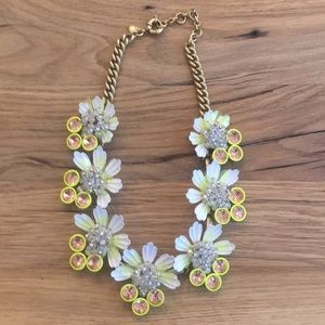 JCrew flower necklace-Amazing condition